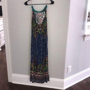 EUC strapless dress sz small